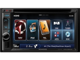 2-DIN Naviceiver mit 15,7 cm/6,2 Touchscreendisplay, hoch auflösendes VGA Display, Navigation mit...
