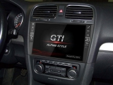 All in One Navigation mit 9-Zoll Display für VW Golf VI, FLAC/MP3/AAC/<br>WMA/USB-Wiedergabe,...